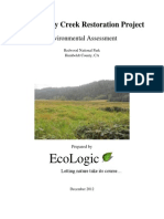 SCRP Environmental Assessment