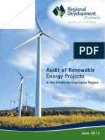 Audit of Renewable Energy Projects WEB