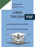 Codigo Civil - Libro III - Exposicion Motivos.pdf