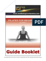 Pilates for Beginners Class 1 Guide Booklet