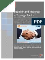 Anaerobic Digester Tank -Crude Oil Storage Tank- Wastewater Storage Tank - Tanks India