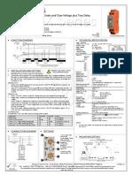 three phase relays mxprcs-2-a