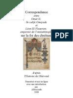 Lettres entre Omar 2 et Léon l'Isaurien