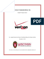 Verizon Communications Report