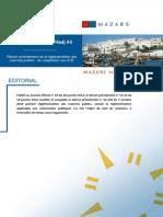 Amendement de la réglementation des marchés publics