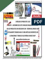 Catalogo Orozco Shop Agosto 2013