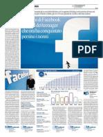 La Repubblica - I 10 anni di Facebook il social dei teenager che ora ha conquistato persino i nonni