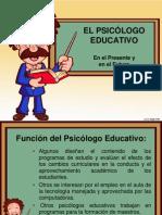 funcion del psicologo educativo hoy en da