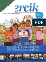 Majalah Percik Tentang Konferensi Sanitasi Dan Air Minum Nasional KSAN 2013