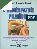 Homéopathie pratique