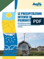 Le Precipitazioni Intense in Piemonte