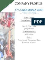 Kompany Profil CV. SMS BARU