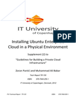 Guidelines to Private Cloud Companion BookLet 2