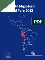 Perfil Migratorio Peru 2012