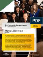 Open Leadership | Development dialogue paper no.5