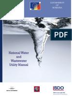 Water Utility Manual