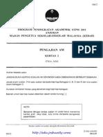 [Edu.joshuatly.com] Kedah SPM Trial 2011 Pengajian Am Kertas 2 (w Ans)