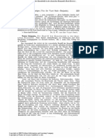 Benjamin - Selbstanzeige Begriff Kunstkritik Duthschen Romantik (Kant-Studien 1921)