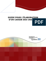 Guide Cahier Charge