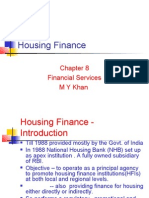 Ch 8 Housing Finance [M.Y.khan]