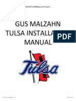 Gus Malzahn Tulsa Install