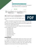 Arrangement Basics