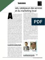 Les partenariats, catalyseurs des services géolocalisés et du marketing local