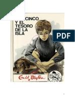 Enid Blyton - Los Cinco 01 - Los Cinco y el tesoro de la isla.pdf