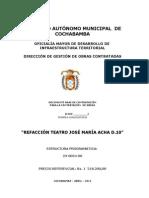 Dbc Lp Teatro Jose Maria Acha