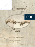 Meniu Michelangelo