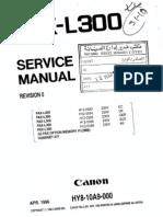 Canon l300 Service Manual