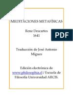 Descartes - Meditaciones Metafsicas