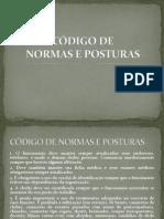 CÓDIGO DE NORMAS E POSTURAS