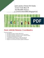 Appunti Parte Pratica Di Guida - Corso Uefa Base B