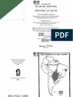 Diccionario Guarani Espanol y Espanol Guarani - Anselmo Jover Peralta - Portalguarani