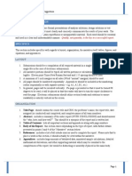 Technical Report Standards