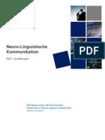 Neuro-Linguistische Kommunikation - NLP Ausbildungen