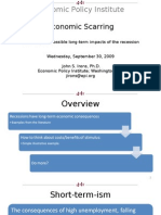 Economic Policy Institute Economic Scarring