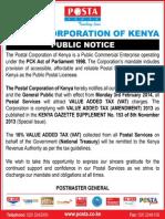 Pck Public Notice Advert Jan 2014