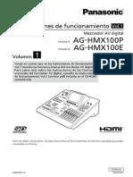 Mixer Video AG-HMX100PE S Vol1 Spanish