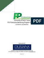 Mentoring Handbook 2012-2013
