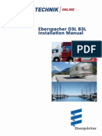 Eberspacher D3L/B3L Installation Manual