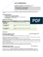 Ihjaz CV as of 18 jan
