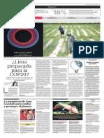 Lima Preparada Para El COP20