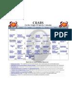 Crabs Calendar.numbers