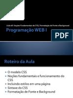 Programacao Web Aula 08