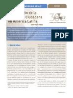 La Situación de la Seguridad Ciudadana en América Latina