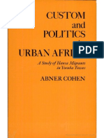 07 - Abner Cohen - Custom and Politics in Urban Africa(1)