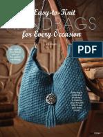7 Easy to Knit Handbags
