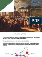 PROTEINAS [Bioquimica.unidad II.26 Sep 2009]